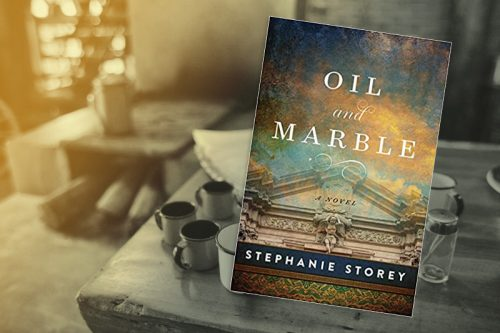 Feast of Fiction — Oil and Marble